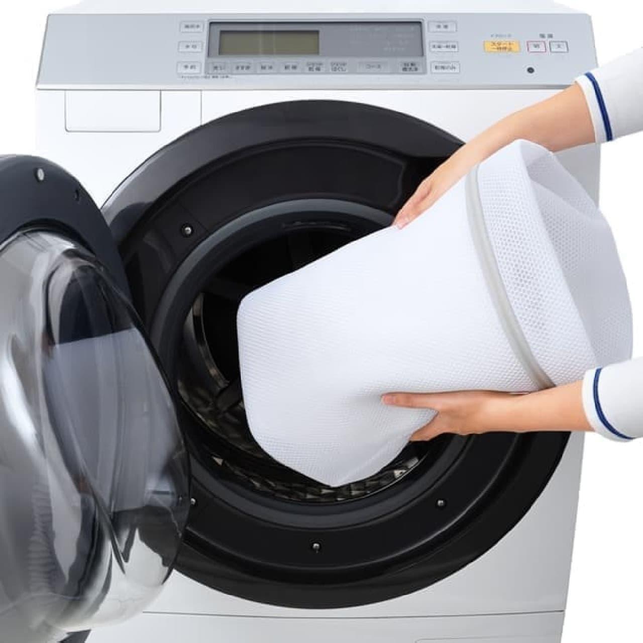 ドラム式洗濯機用の洗濯ネット「ドラム式専用ネット」