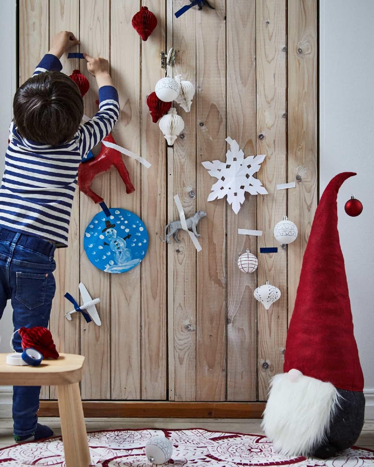 イケアストアにクリスマスコレクションとヴェルメル コレクション