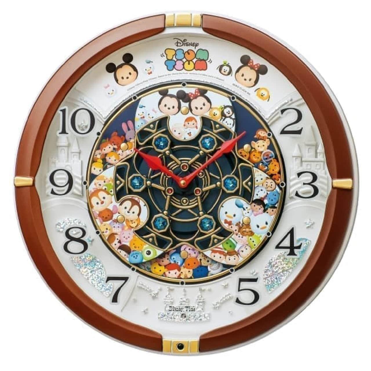 ディズニー ツムツムが華麗なからくり時計に--サンリオの人気者が集合したモデルも