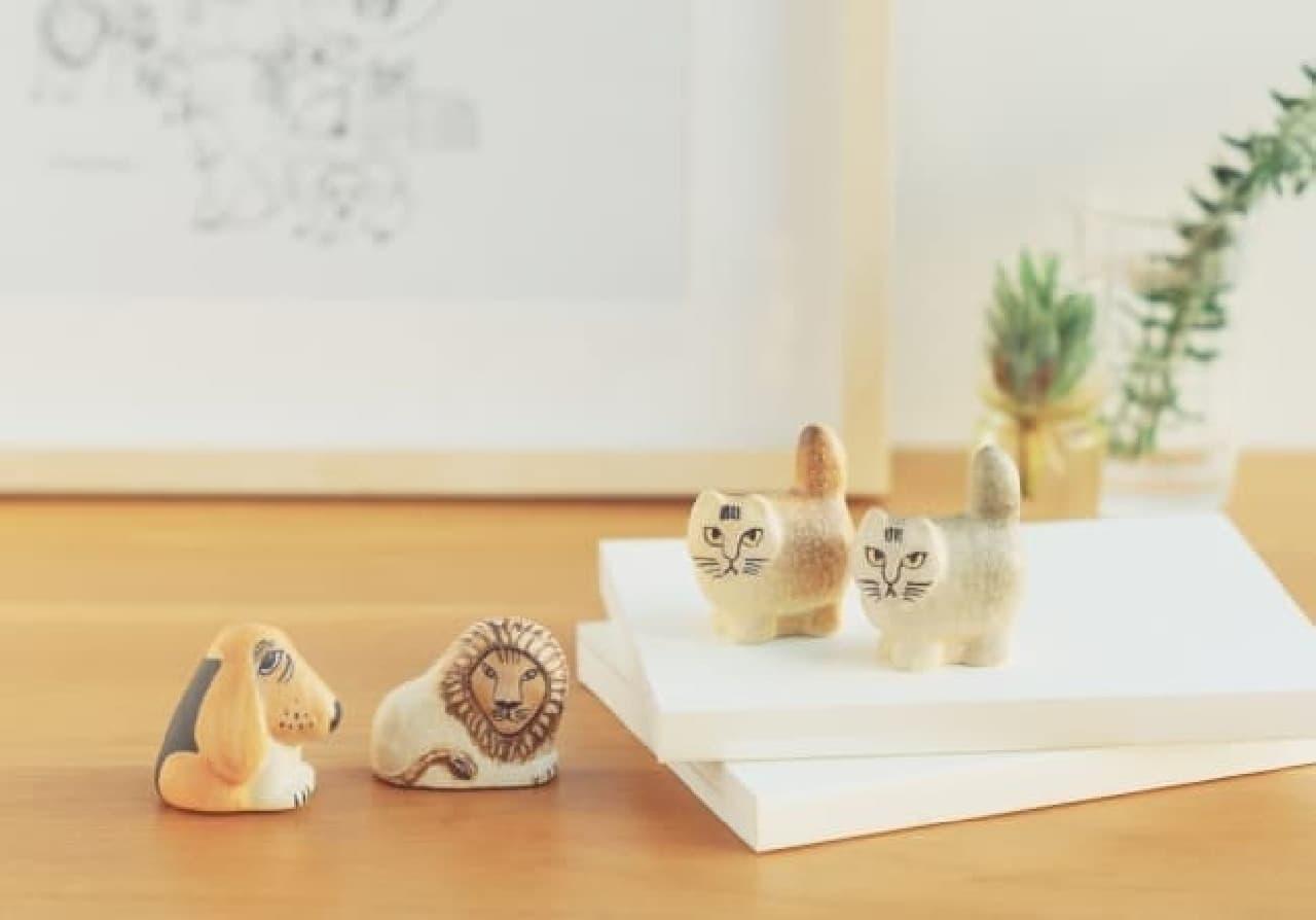 手のひらサイズの動物が可愛い--リサ・ラーソン氏の新作「Mini Zoo 2020シリーズ」