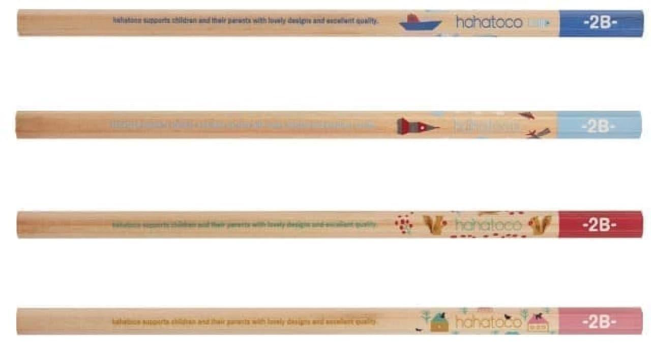 三菱鉛筆の学童向けブランド「hahatoco(ハハトコ)」シリーズの鉛筆に新柄