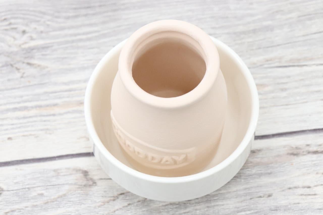 ネコやミルク瓶型♪100均「素焼き加湿ポット」が可愛い--デスクや寝室の乾燥対策に