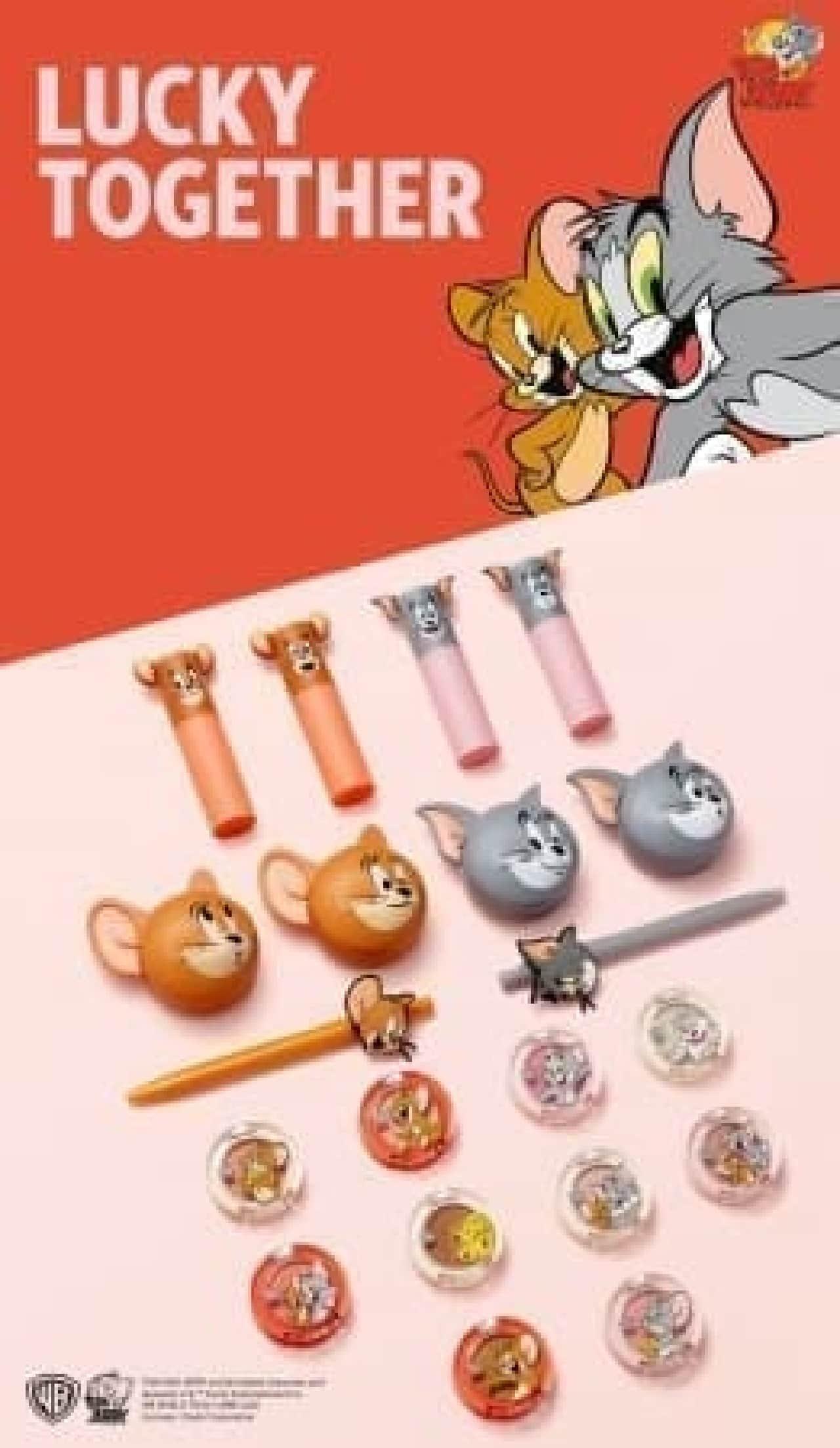 エチュードハウス「Tom&Jerry(トムとジェリー)」とのコラボレーションコスメ