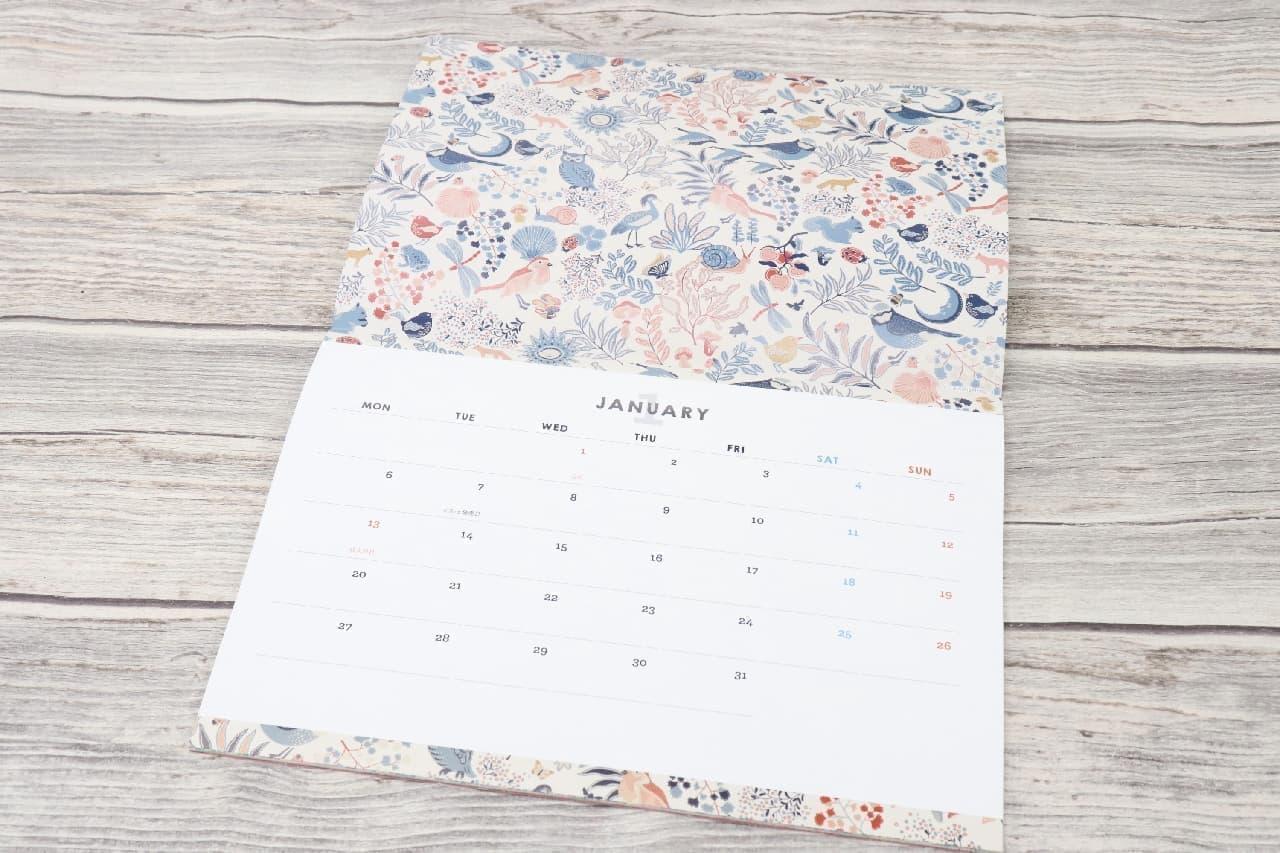 「InRed」1月号の付録が豪華!ムーミンのマルチポーチ&キャス キッドソンのカレンダー