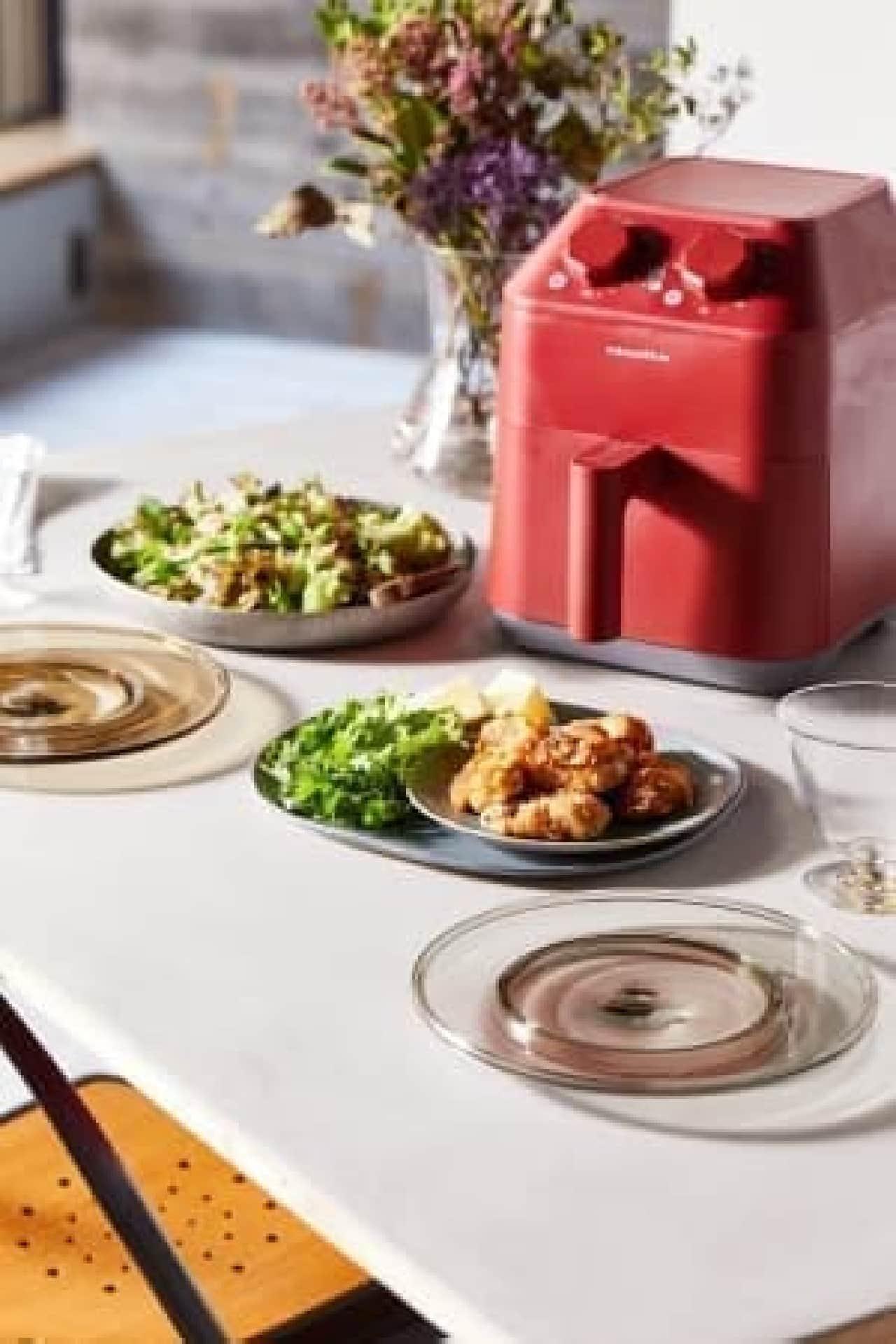 コンパクトなノンフライ調理家電がレコルトから--唐揚げやカツをヘルシーに、オーブン代わりにも