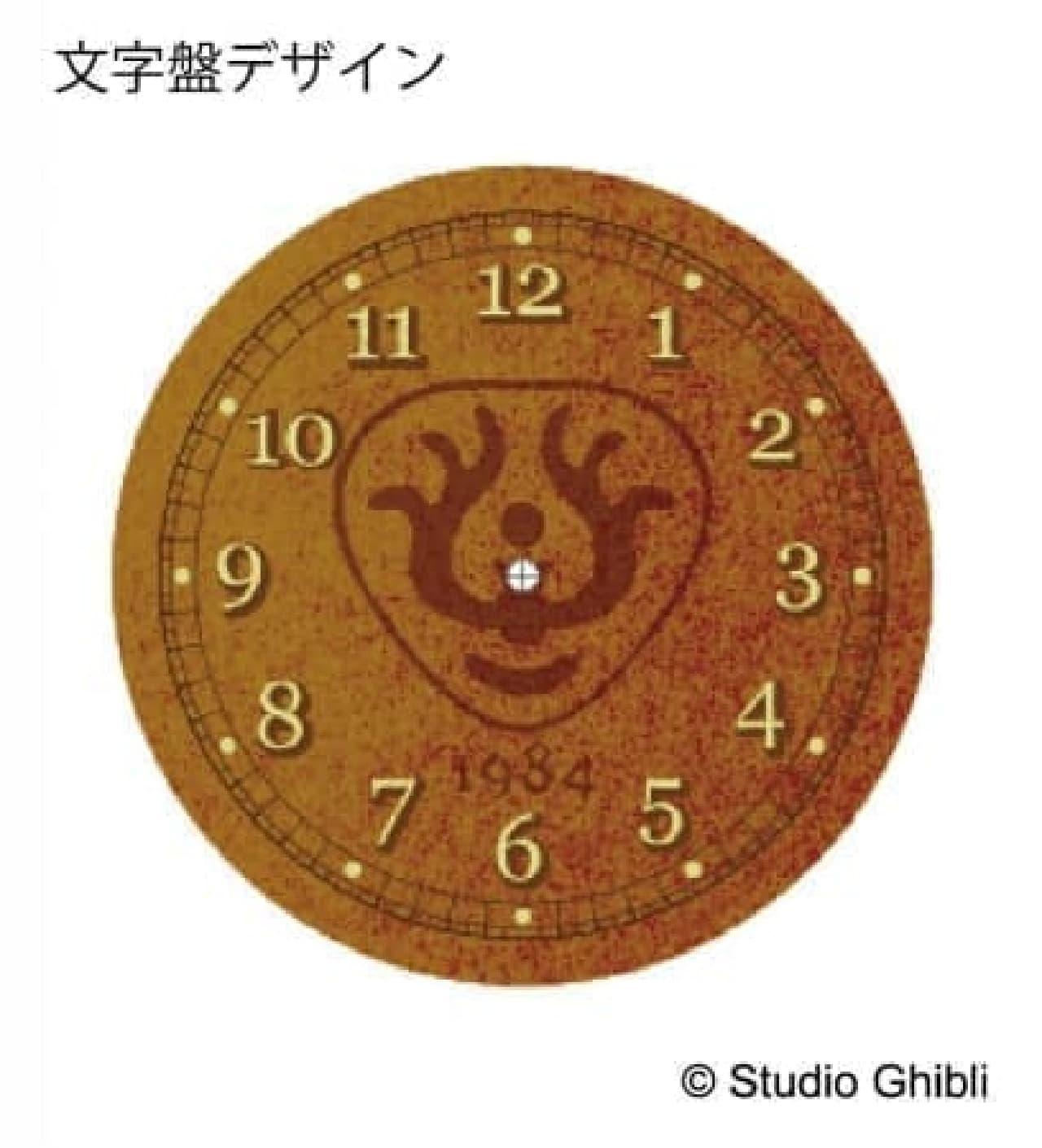 となりのトトロや魔女の宅急便のミニ置時計--360度楽しめるリアルなつくり