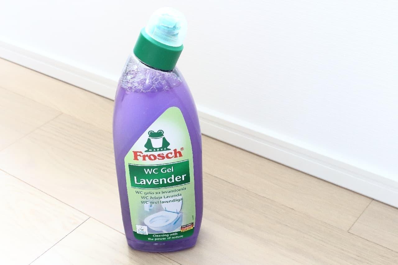 自然派ブランド「フロッシュ」のトイレ用洗剤--非塩素系で安心、優しいラベンダーの香りつき