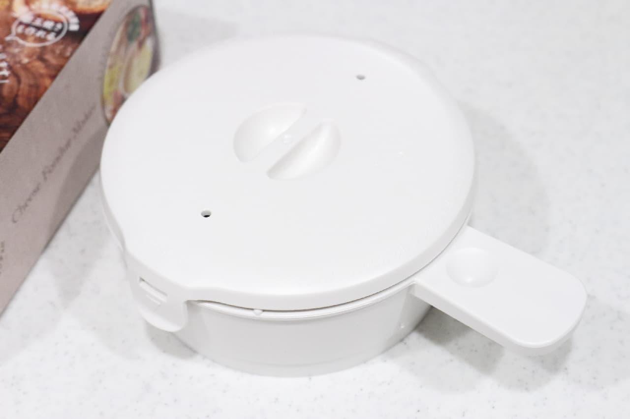 電子レンジで簡単!チーズフォンデュの専用容器--カマンベール丸ごと1個、熱々とろとろの美味しさに