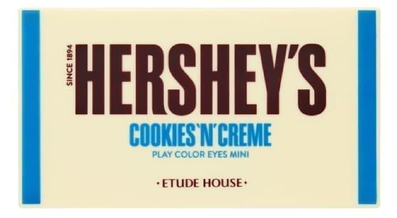エチュードハウス「ハーシー プレイカラーアイズミニ クッキーアンドクリーム」