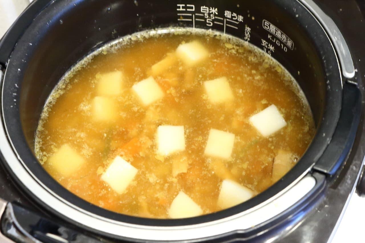 炊き込みご飯の素のおこわ風レシピ