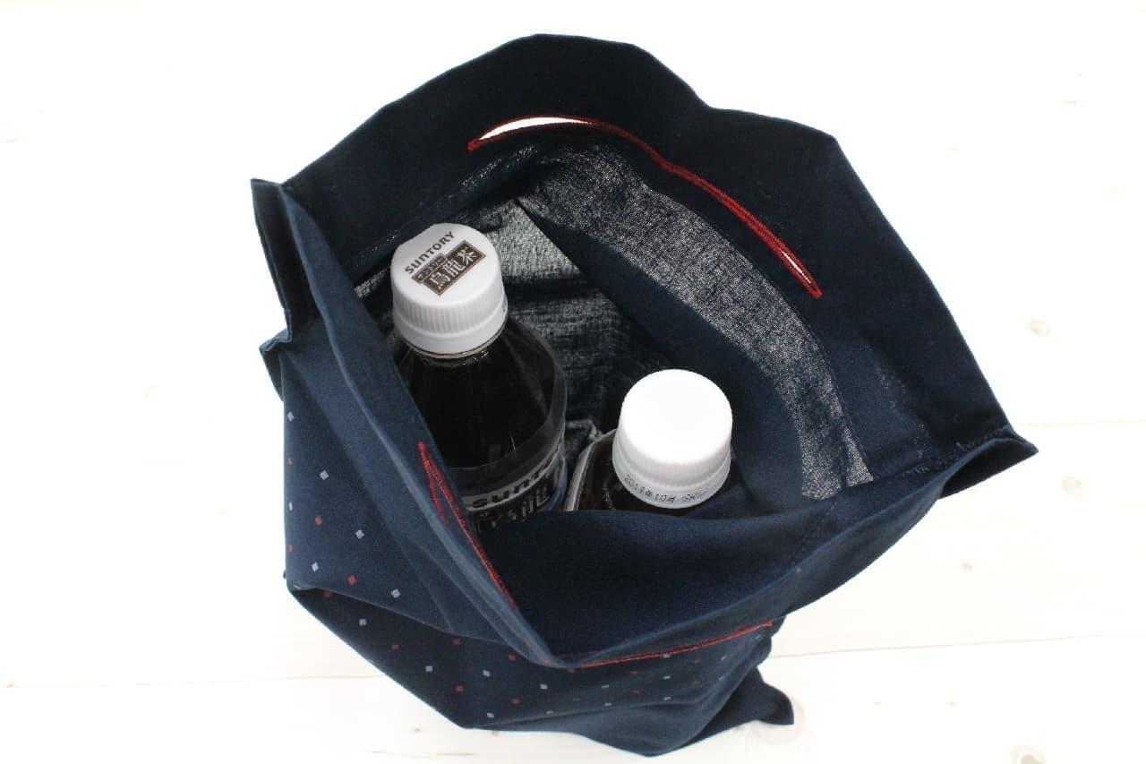 画期的!セブン「エコバッグになるハンカチ手さげ」は便利な2WAYアイテム--コンパクトに持ち運び、巾着タイプも
