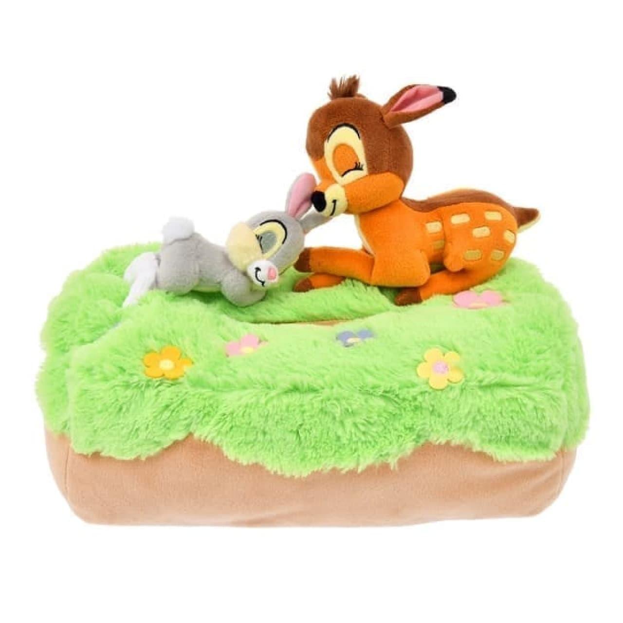 ディズニーストアにバンビの抱き枕やアリスのルームウェア--心地よい眠りに誘うリラックスアイテム【睡眠の日】
