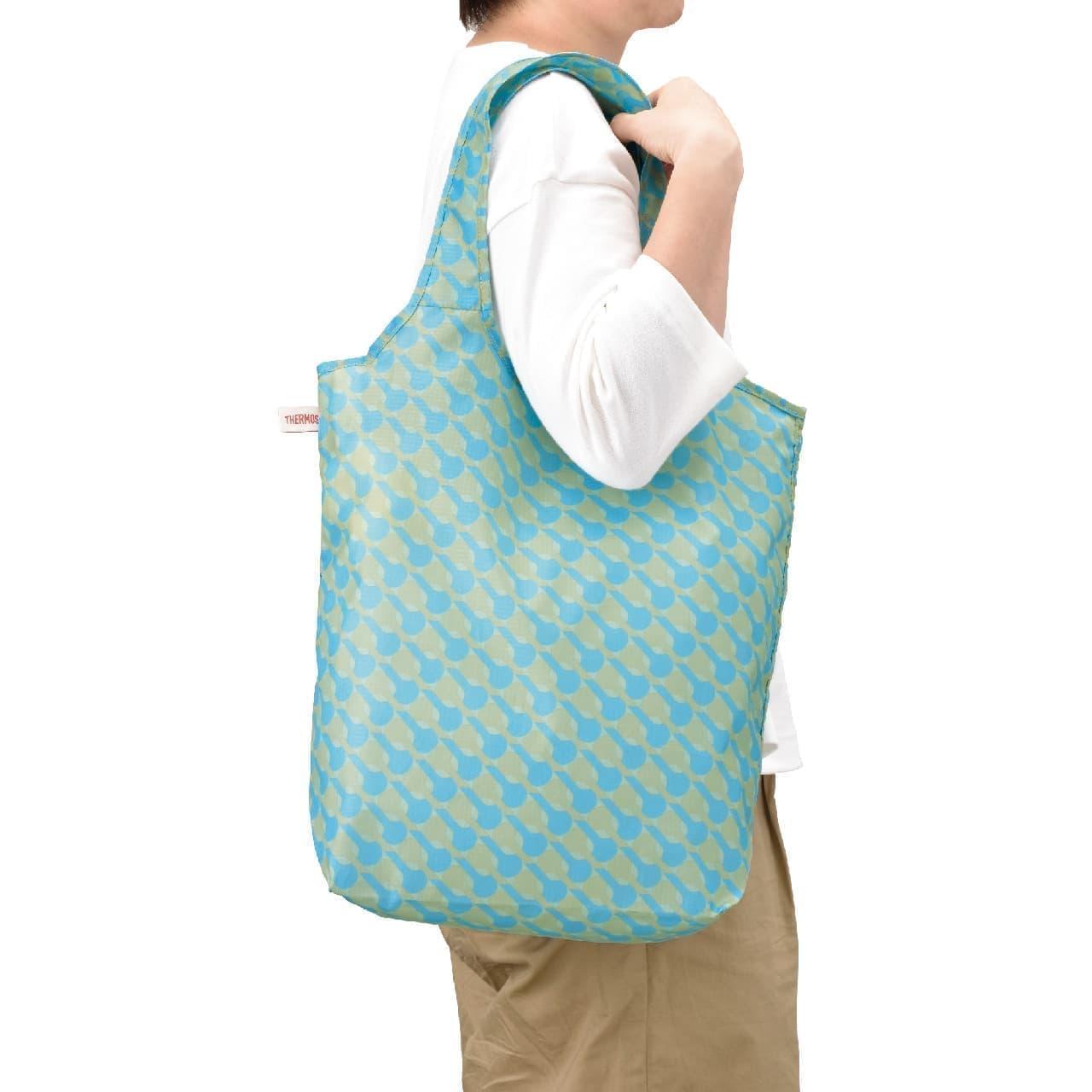洗える丈夫なエコバッグ「サーモス ポケットバッグ」--超コンパクトに持ち運び、コンビニ弁当にも