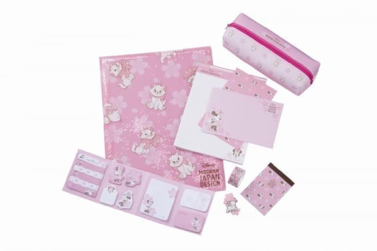 ロフト限定のディズニー雑貨登場--桜色の文具やコスメにミニーたちをデザイン