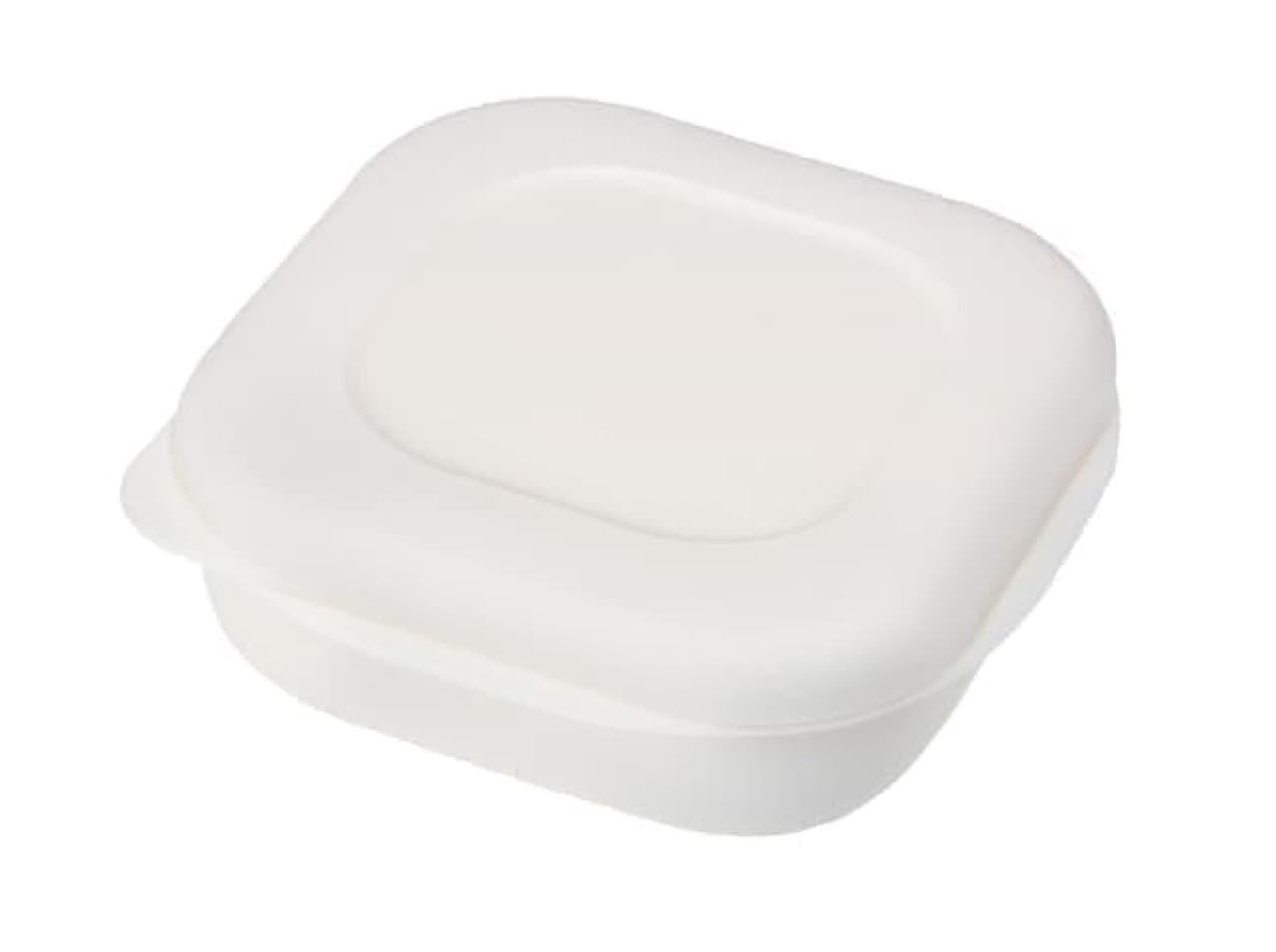 レンジでおいしく温められる「極 冷凍ごはん容器」--すのこでベタツキ防止、弁当箱代わりにも