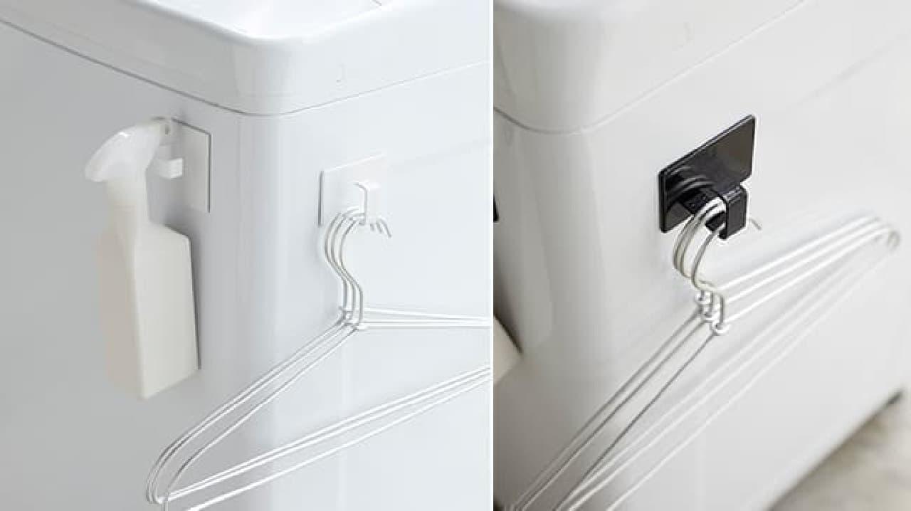 山崎実業から新作の「バスタオルハンガー」や「ランドリーボトル」など--防水パンの上を有効活用できるラックも