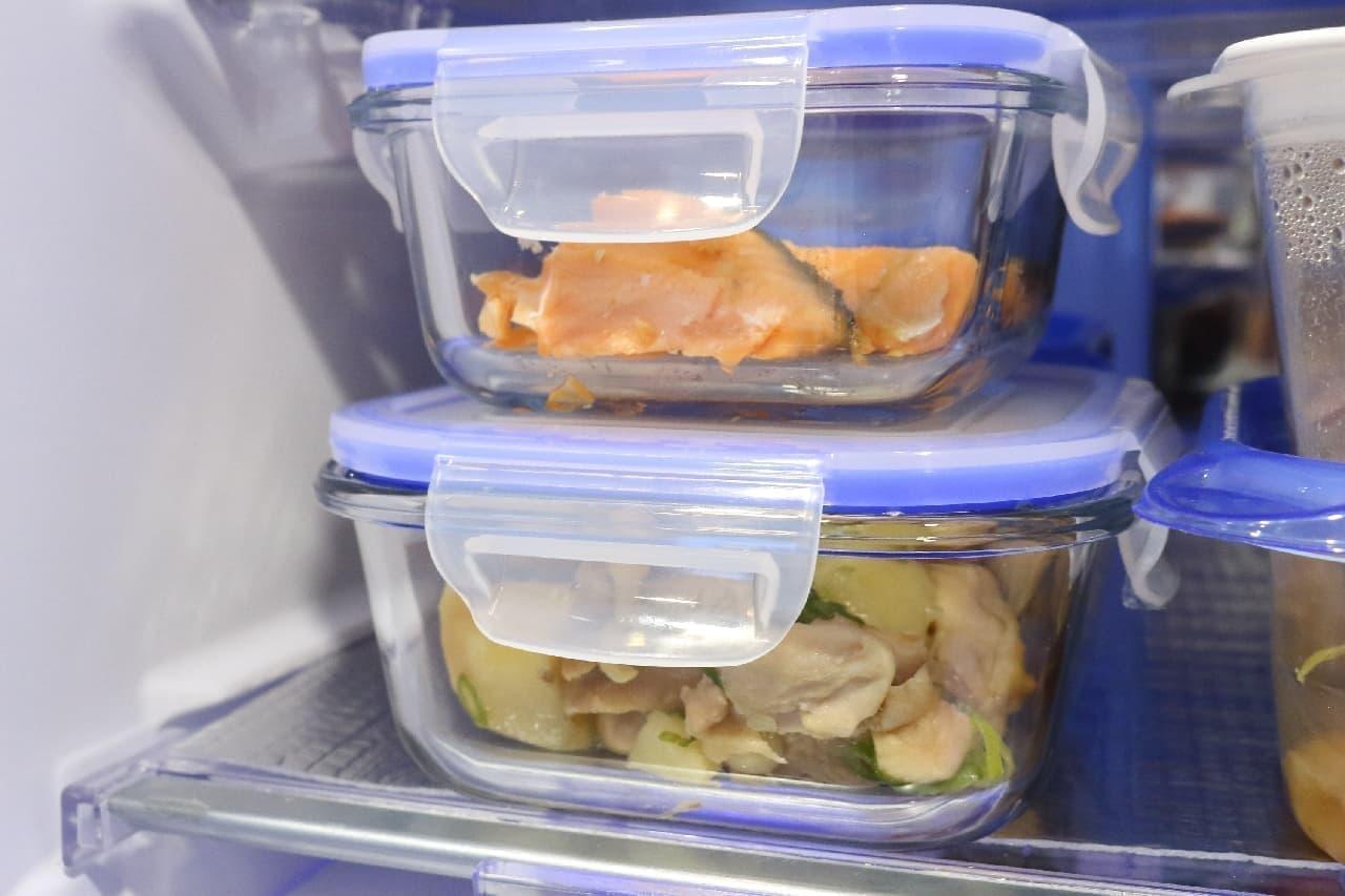 オーブンでも使えるダイソー「耐熱ガラス容器」