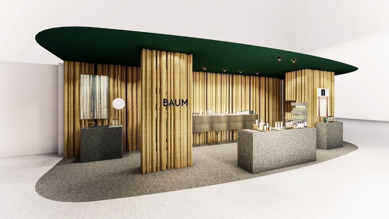 資生堂の新スキンケアブランド「BAUM(バウム)」NEWoMan横浜店