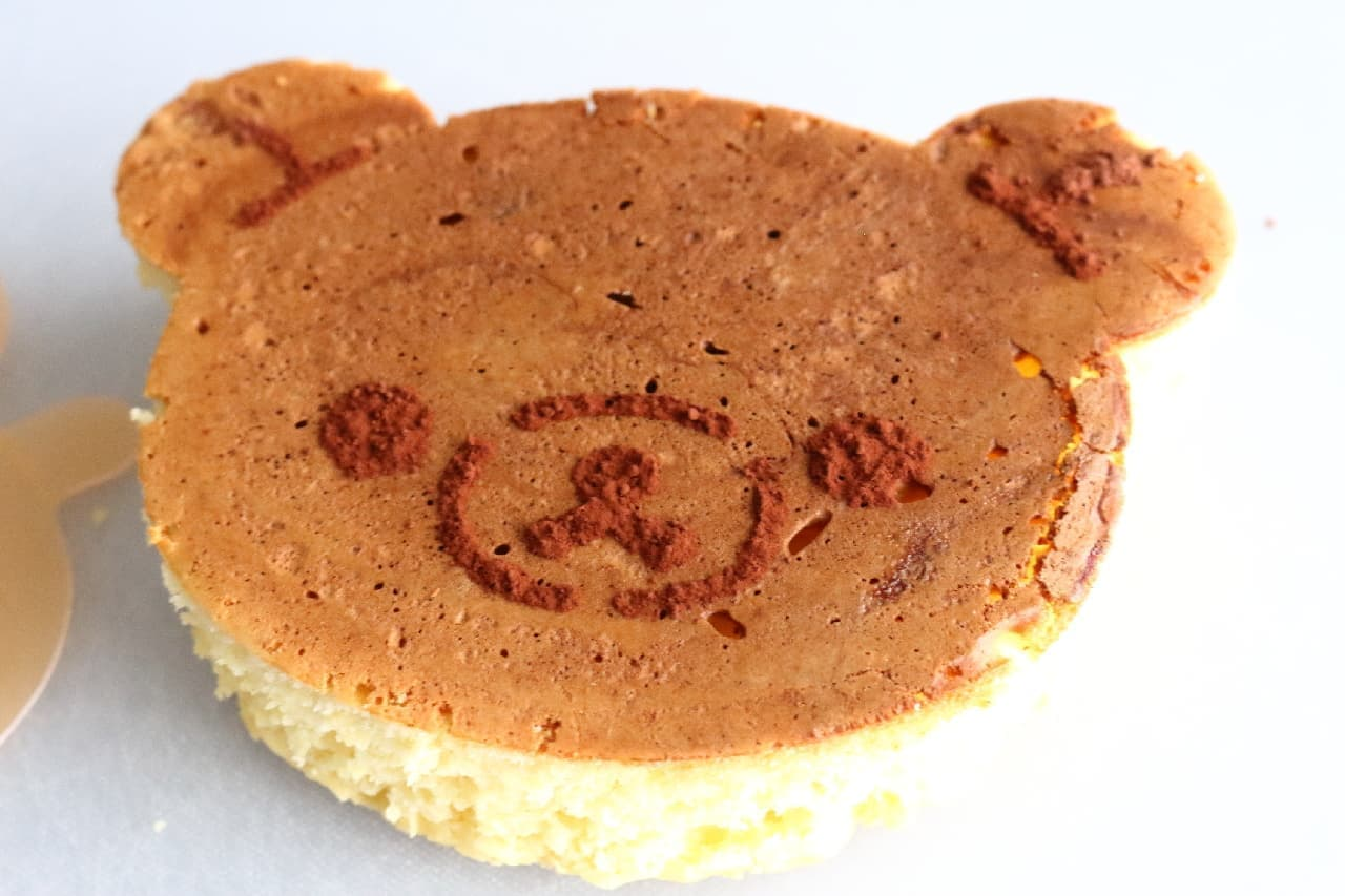 リラックマの形のホットケーキが焼ける「ケーキリング リラックマ」