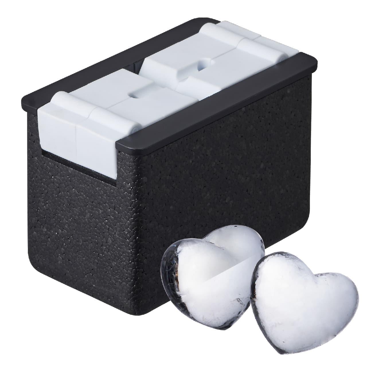 ドウシシャ、自宅で透明な氷を作ることができる容器「透明氷」