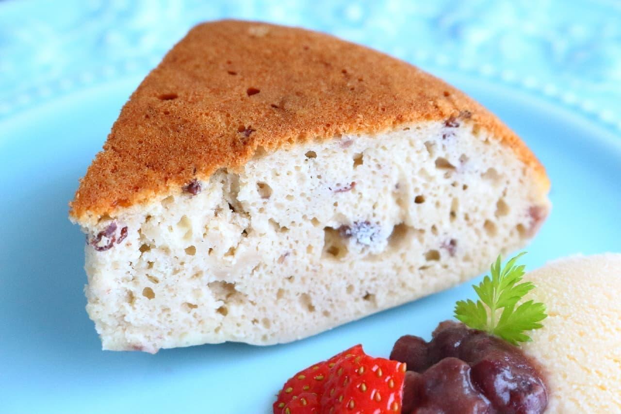 ホットケーキミックスで簡単!ほっこり甘い小豆のケーキのレシピ -- 炊飯器で作るビッグサイズ、豆腐入りでしっとり