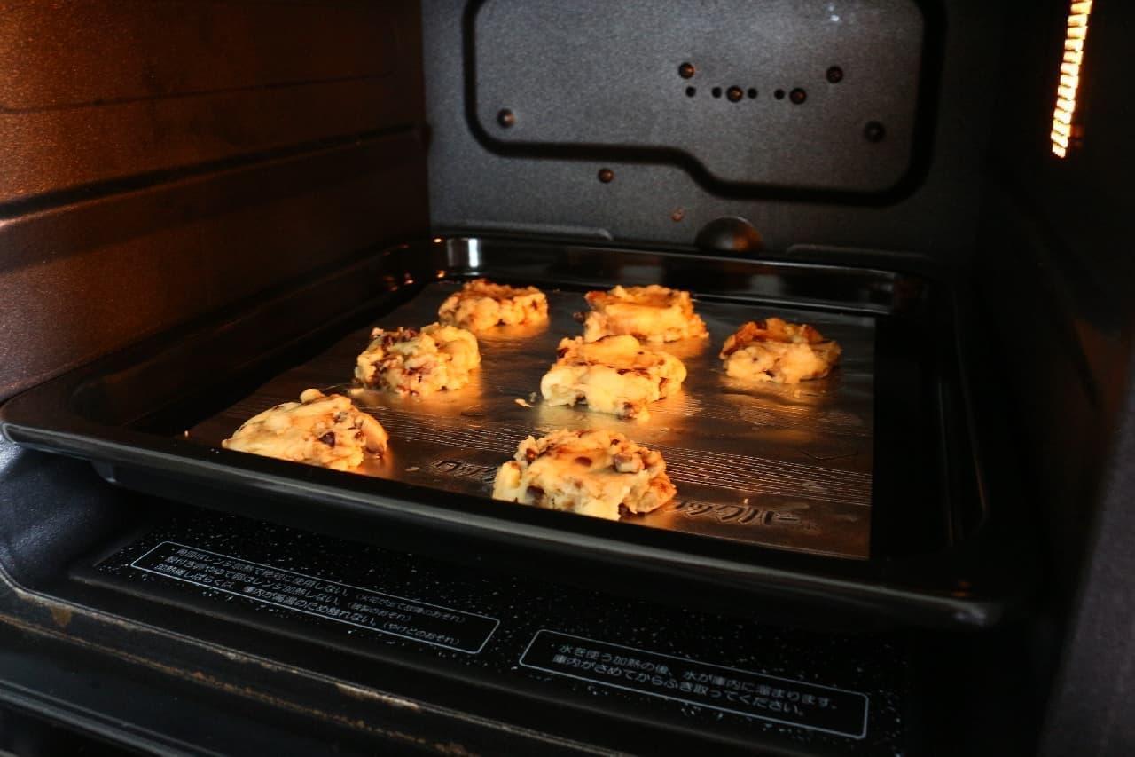 森永「もみもみホットケーキミックス」で作るチョコチップクッキー
