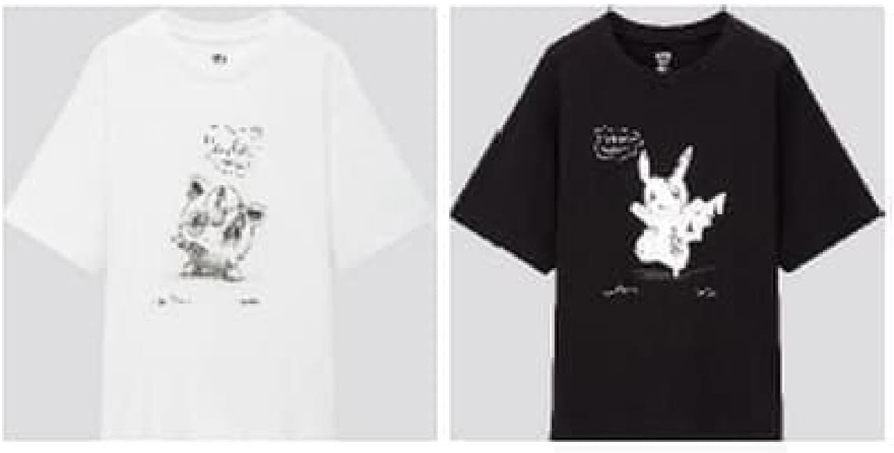 ユニクロTシャツ「ダニエル・アーシャム x ポケモン」