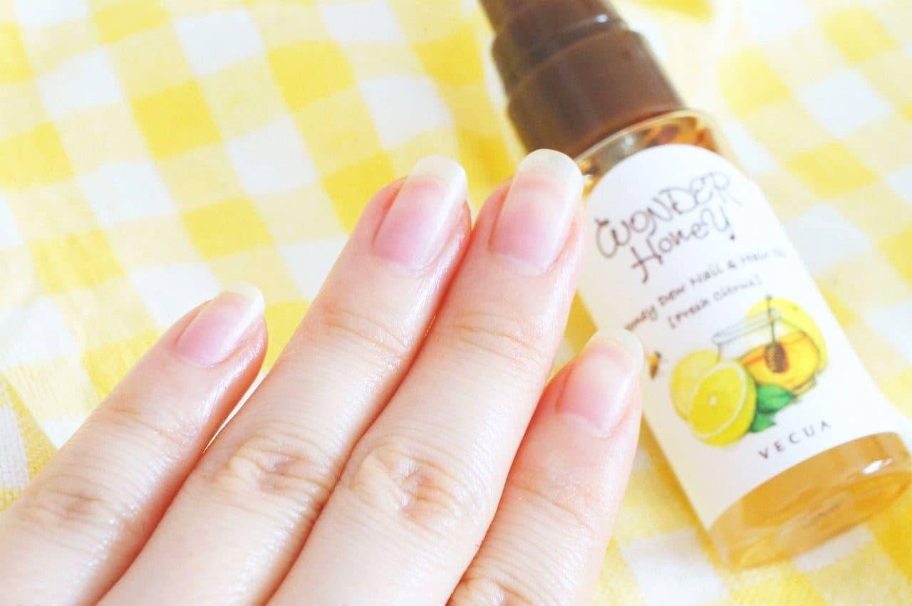 ワンダーハニー 指先と髪先のための蜜オイル