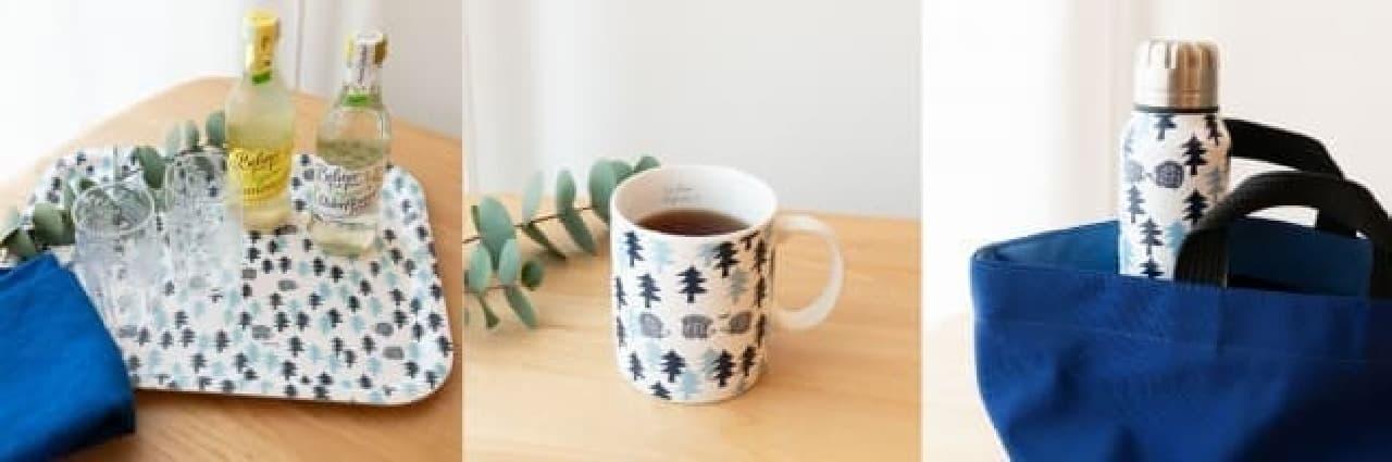 スウェーデンの森をイメージ!リサ・ラーソン「はりねずみの森」シリーズ -- 使いやすい木製トレイやマグカップなど