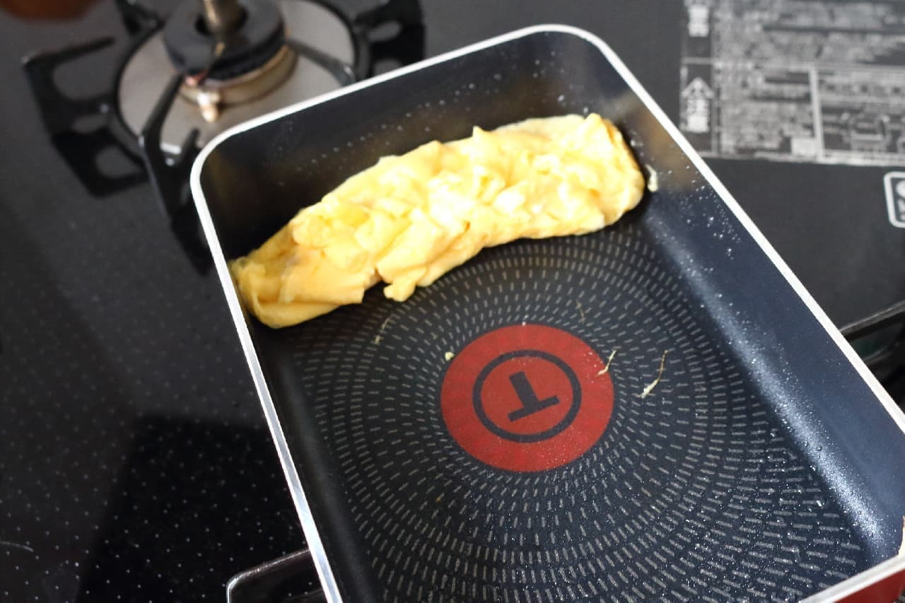 納豆のタレで作る卵焼きのレシピ