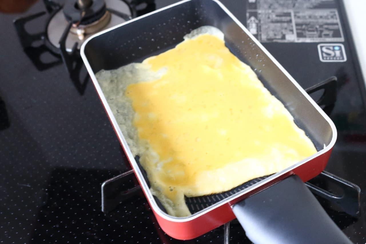 ティファールの卵焼き用フライパン「フェアリーローズ エッグロースター」