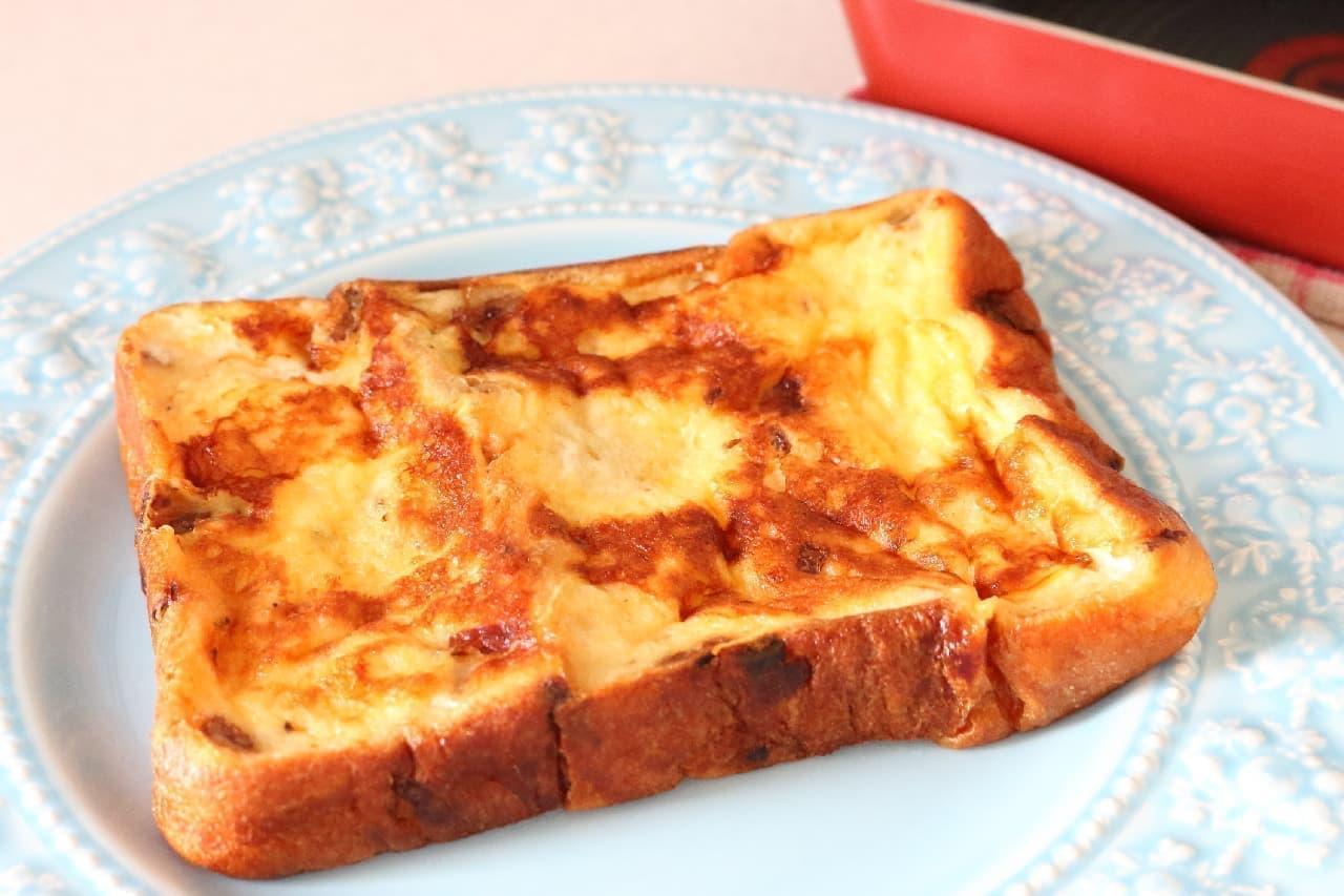 玉子焼き器で作るフレンチトースト