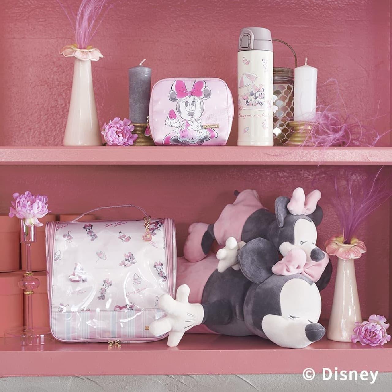 可愛いミニーのルームウェアやポーチがCocoonistから