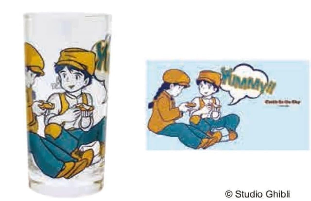 となりのトトロや魔女の宅急便を描いた「ヴィンテージグラスコレクション」