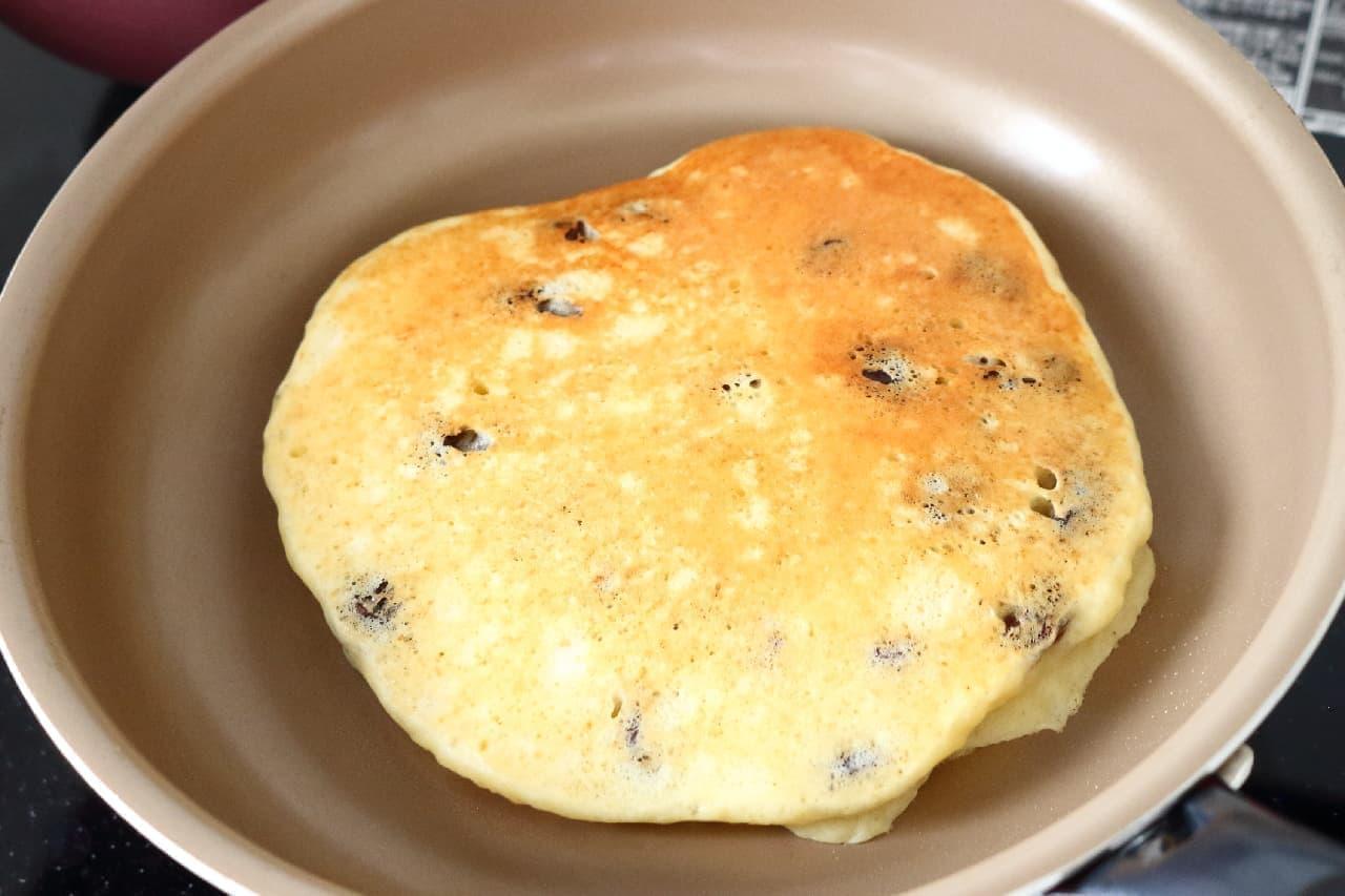 カッテージチーズ入りホットケーキのレシピ