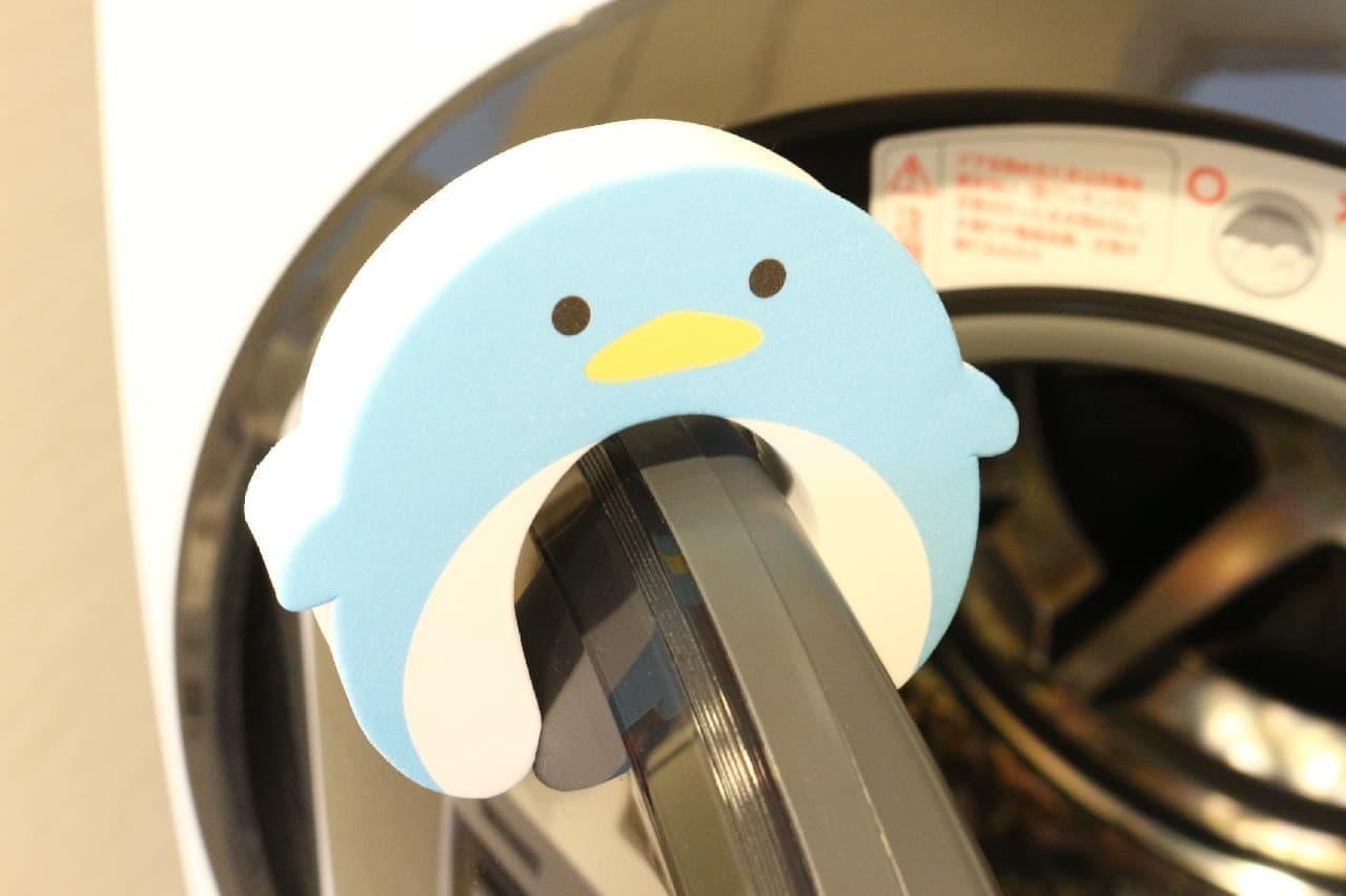 洗濯機のカビ予防に!100均「ドラム式洗濯機ドアストッパー」