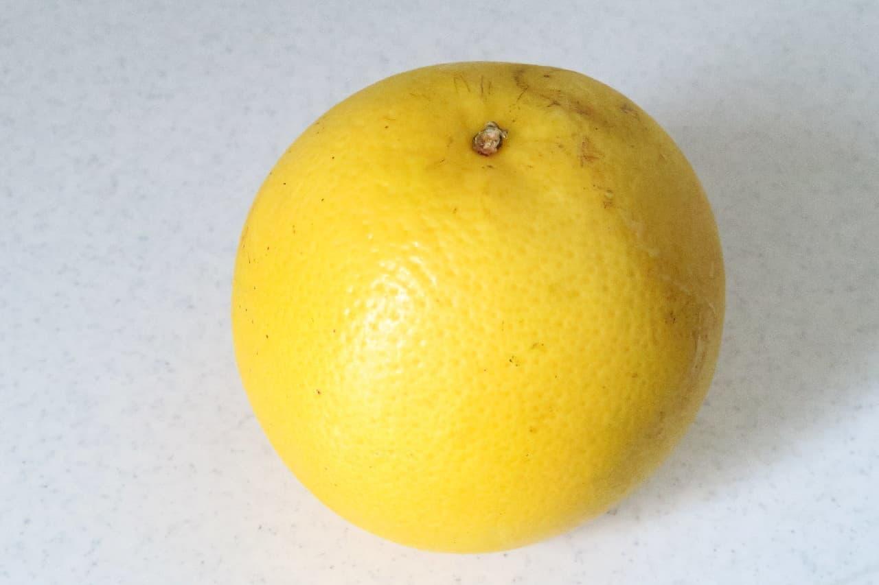 グレープフルーツのおしゃれな切り方