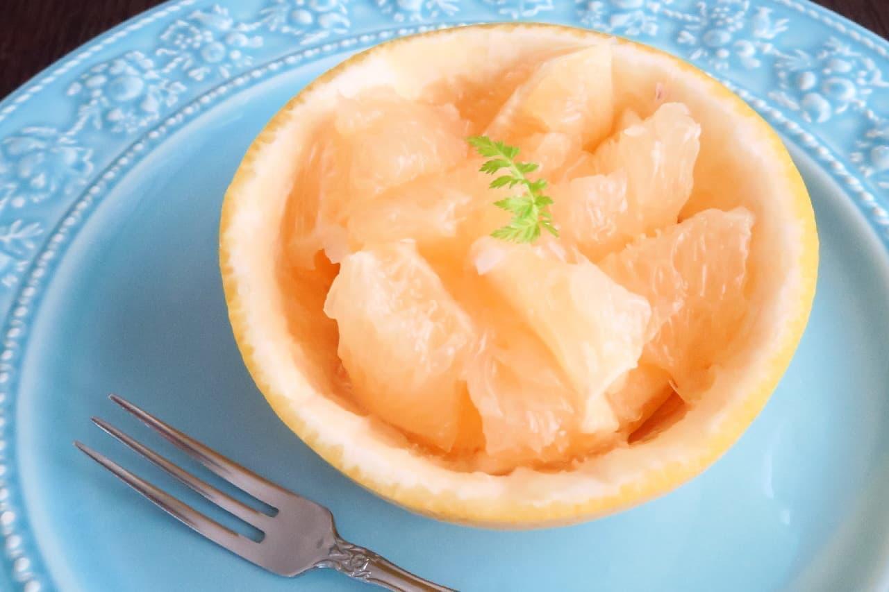 ステップ6グレープフルーツのおしゃれな切り方
