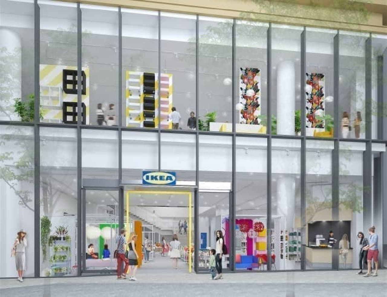 「IKEA原宿」が6月8日開業 -- 初の都市型店舗、手軽に楽しめるカフェも