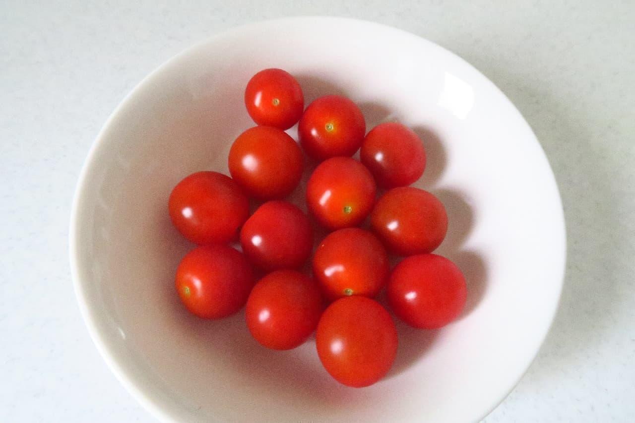 ステップ1ミニトマトの冷凍保存法
