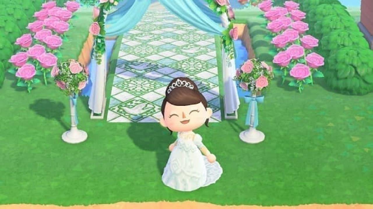 ユミカツラ「あつまれ どうぶつの森」マイデザインドレス