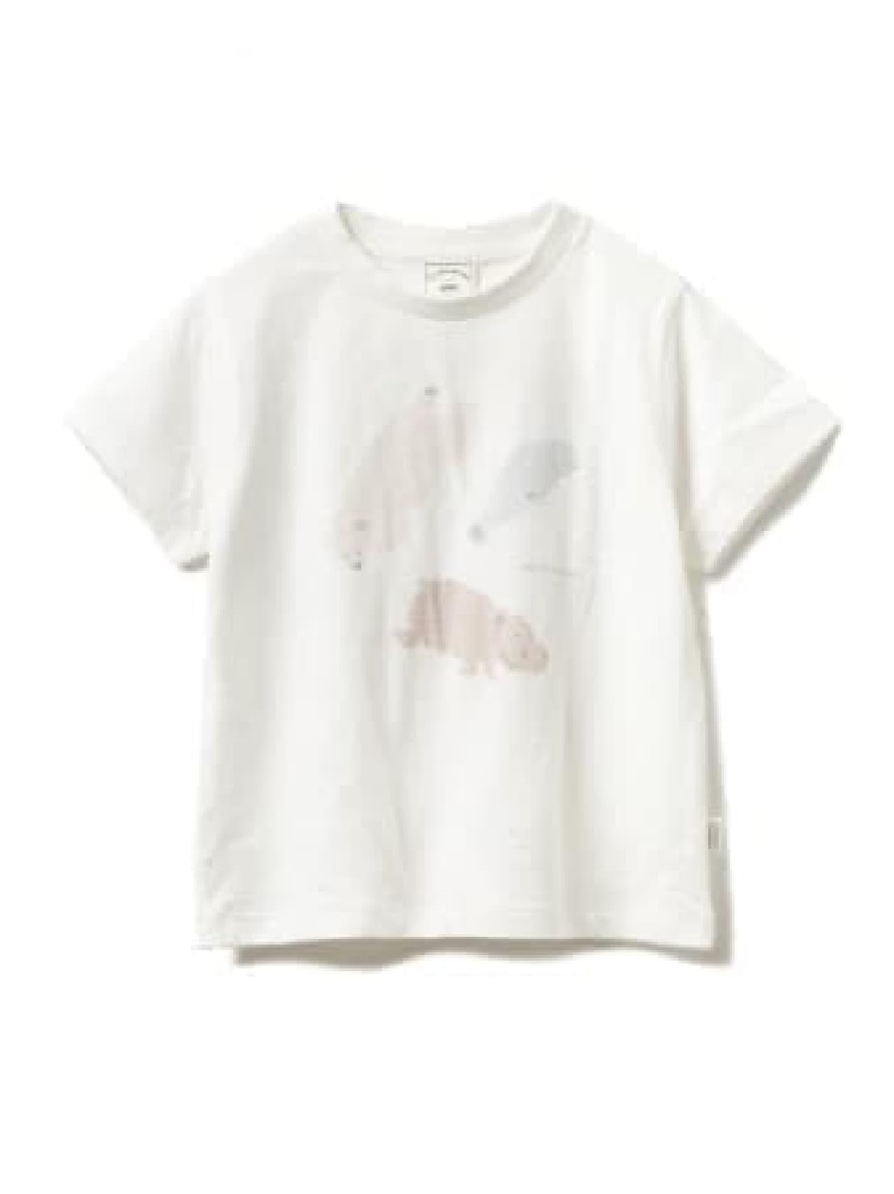 ジェラート ピケと旭山動物園がコラボ! -- 動物たちが描かれたTシャツやバッグなど