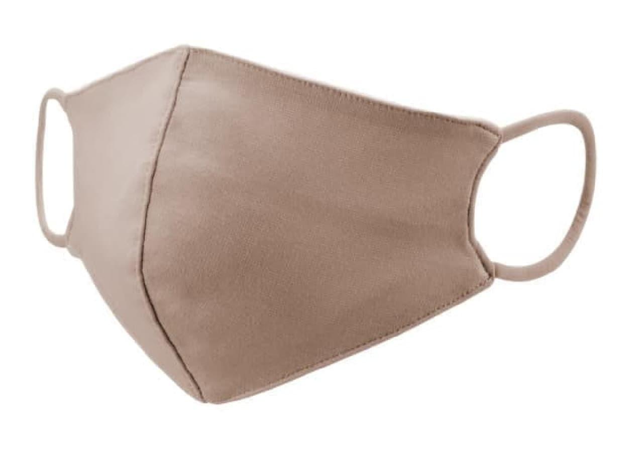 エアクール生地使用のマスク「COOL PASTEL MASK」 -- 小顔に見える&上品なパステルカラー