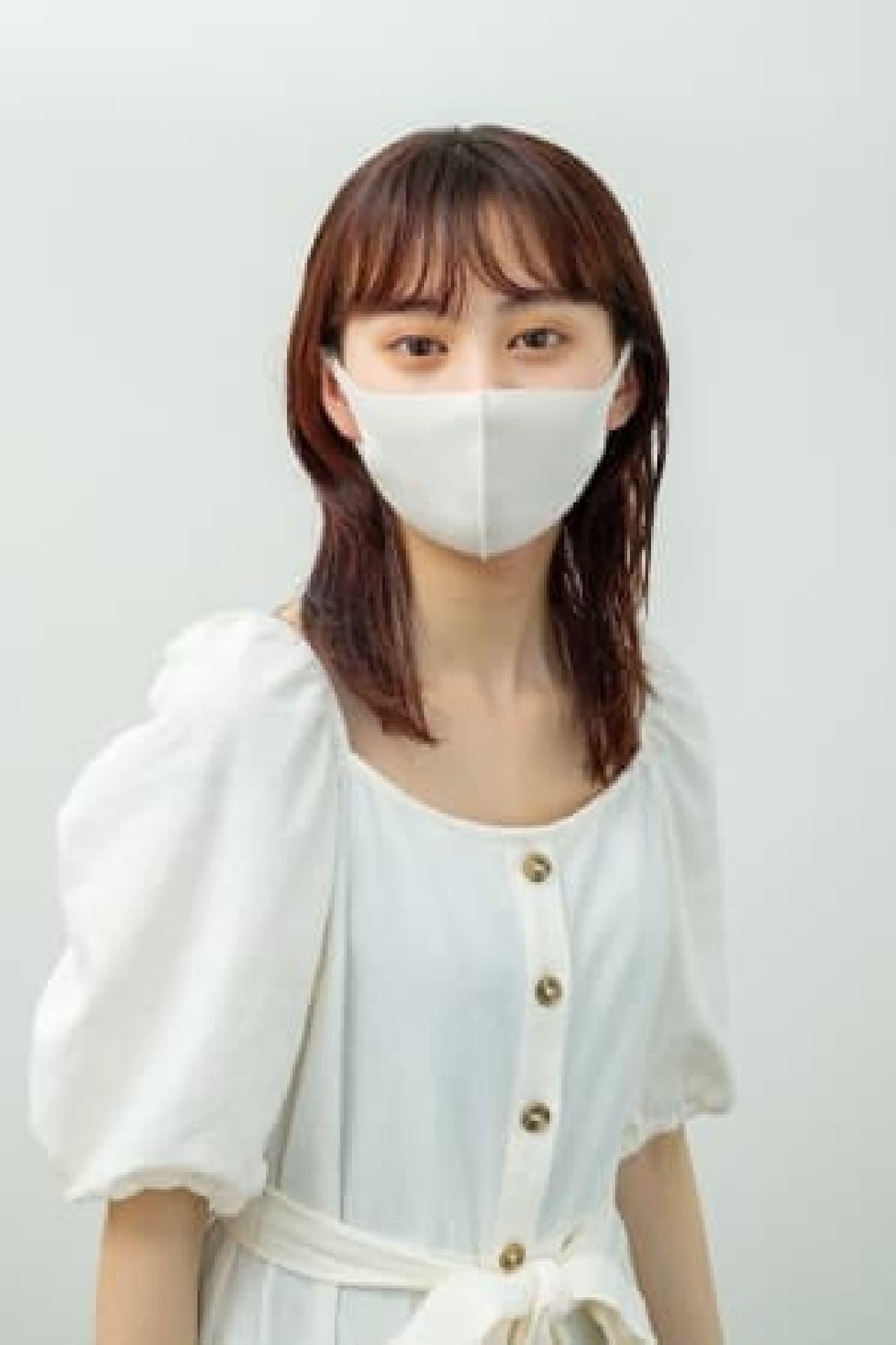 涼感素材のマスク「ANYe(エニー)」 -- 抗菌や防臭効果も