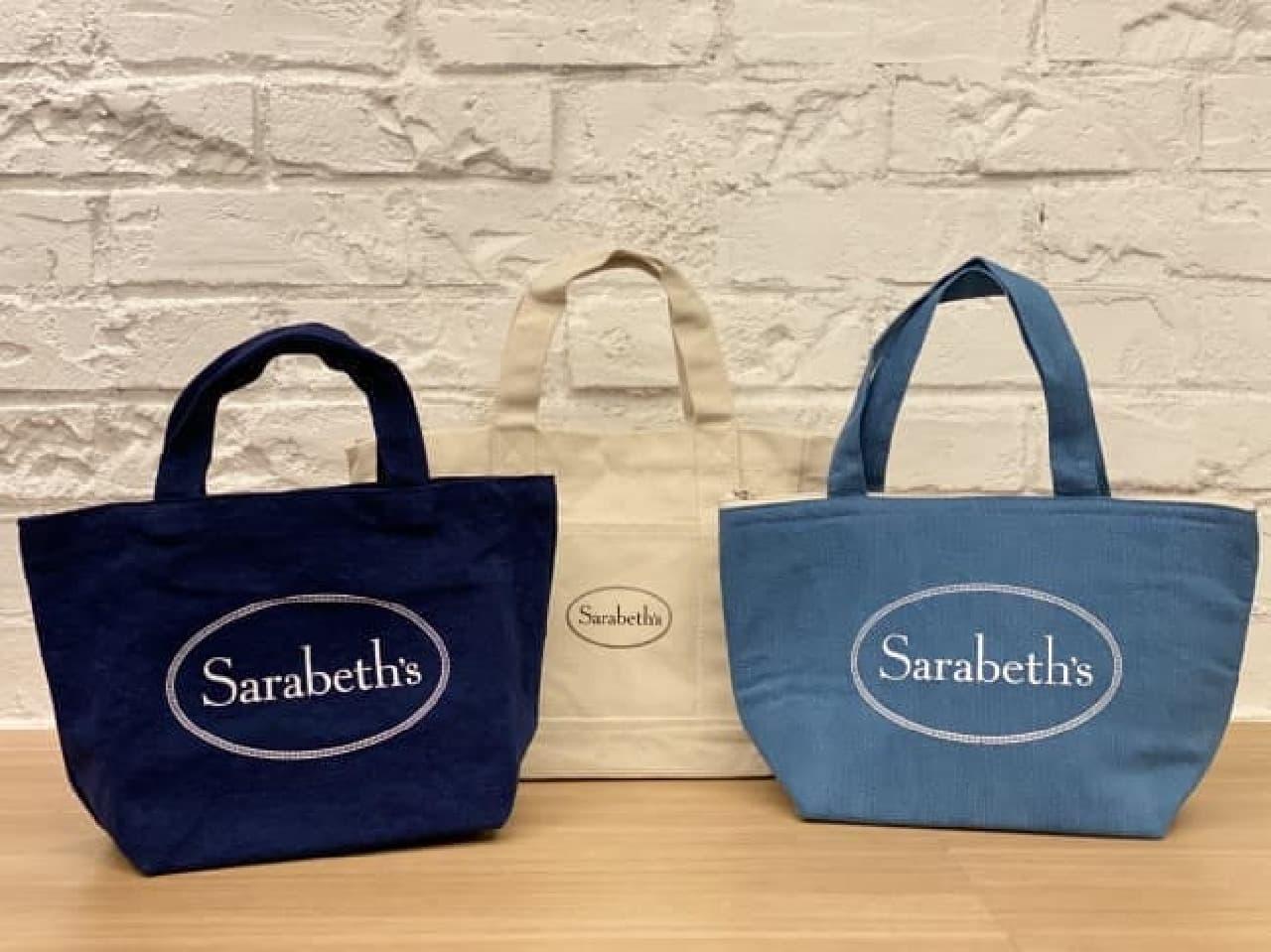 ニューヨーク発祥「サラベス」のトートバッグが20%オフに -- エコバッグやサブバッグに便利な3種類