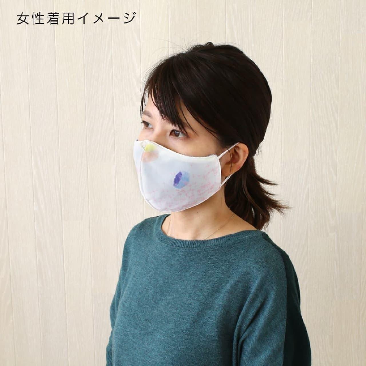 ひんやりして通気性が良い「冷感オリジナルマスク」 -- 可愛いペンギンやシロクマ柄も