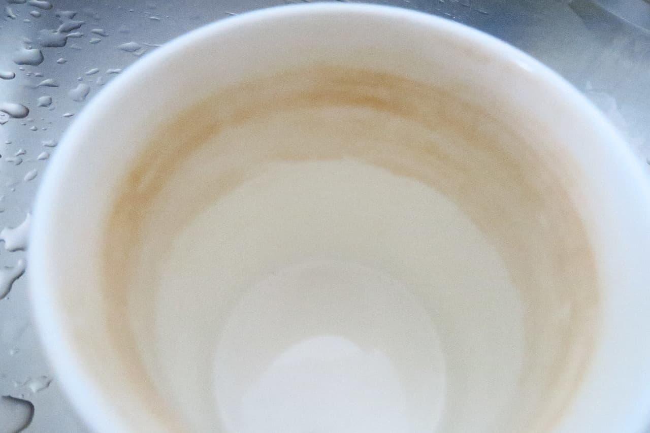 コップの茶渋がきれいに♪ イオンの98円「がんこな汚れを落とすシート」 -- 「ボトル洗い」や「スポンジ ハードタイプ」も98円