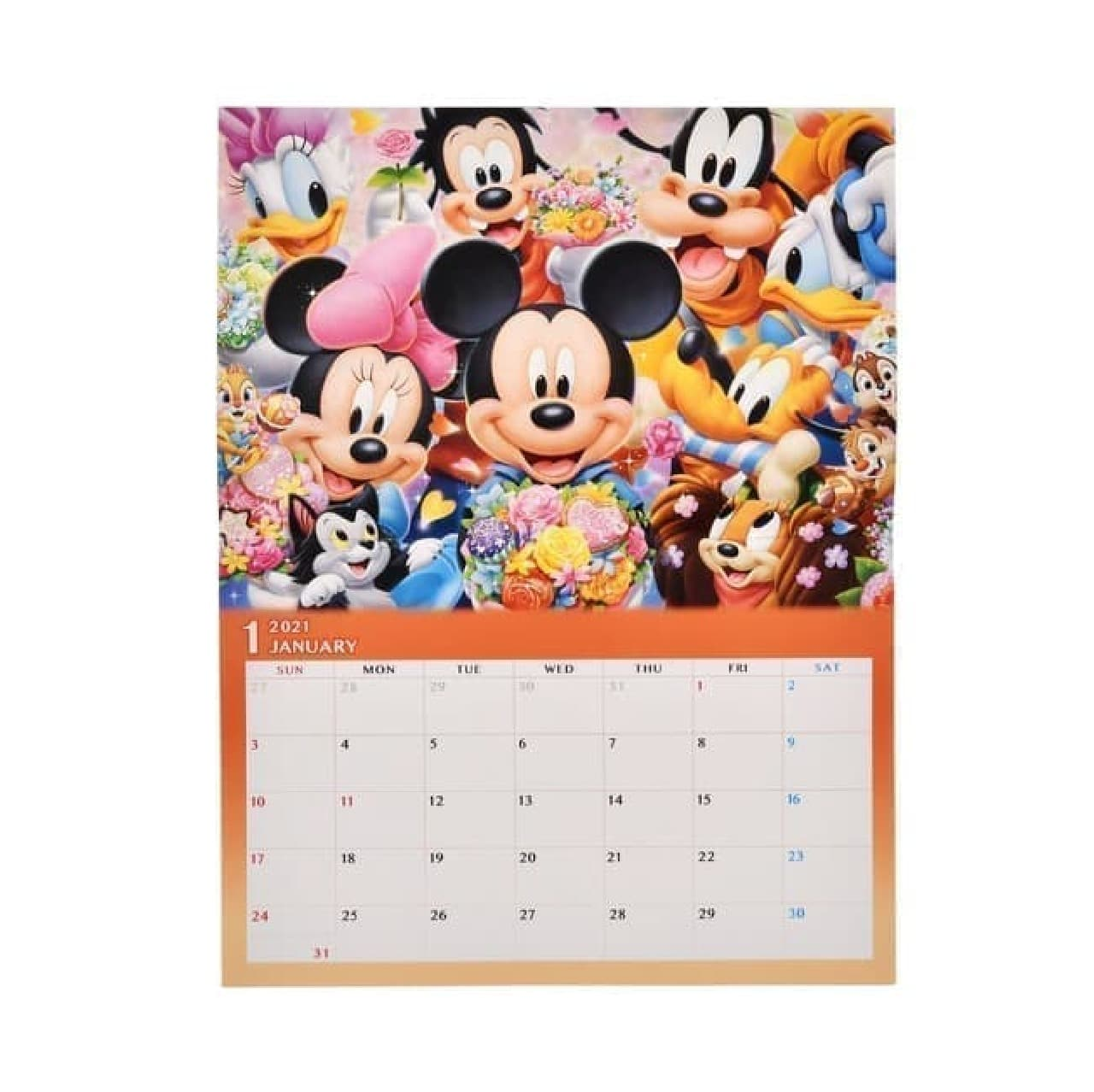 ショップディズニーに2021年版カレンダーやスケジュール帳 -- オリジナルデザインのロルバーンダイアリーも