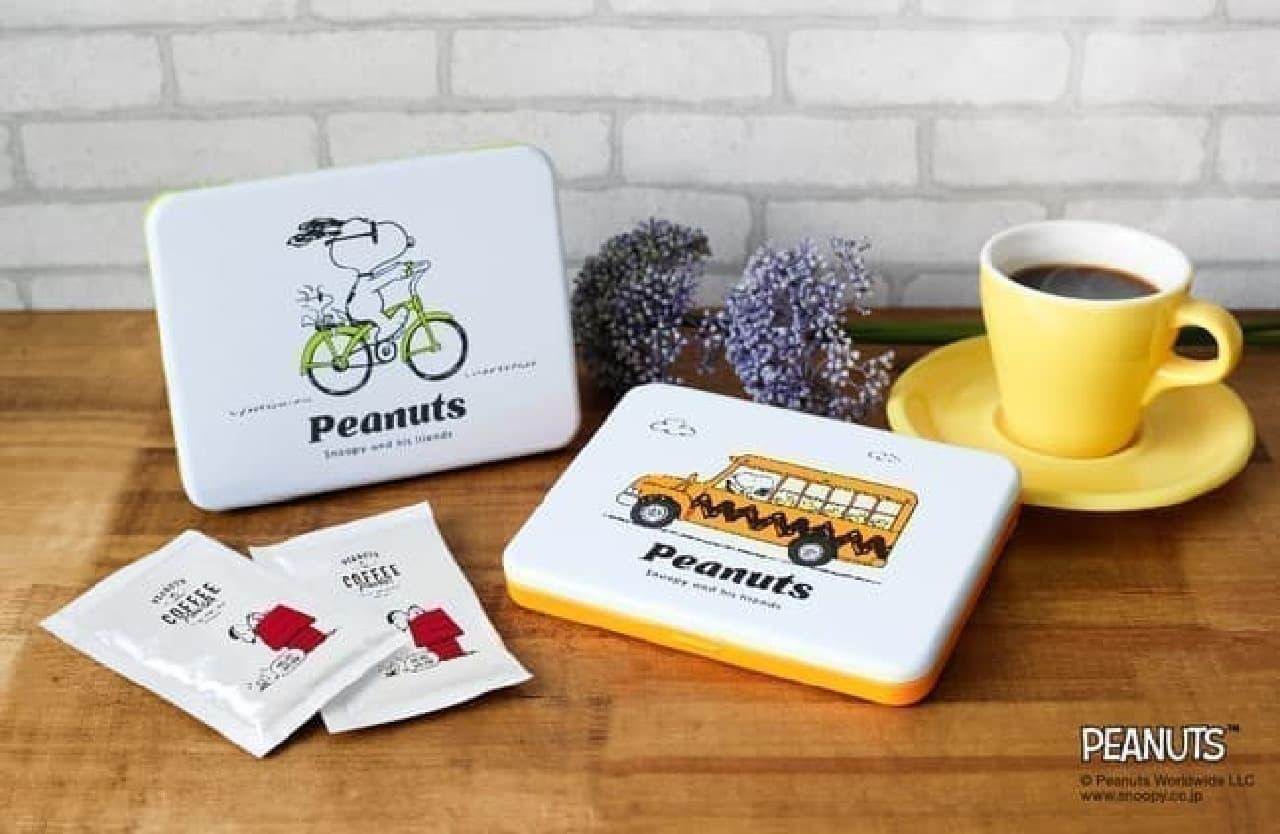 スヌーピーデザインの「PEANUTS COFFEE」