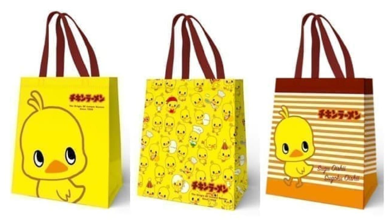 「チキンラーメン」のエコバッグがもらえる!ファミマの数量限定キャンペーン